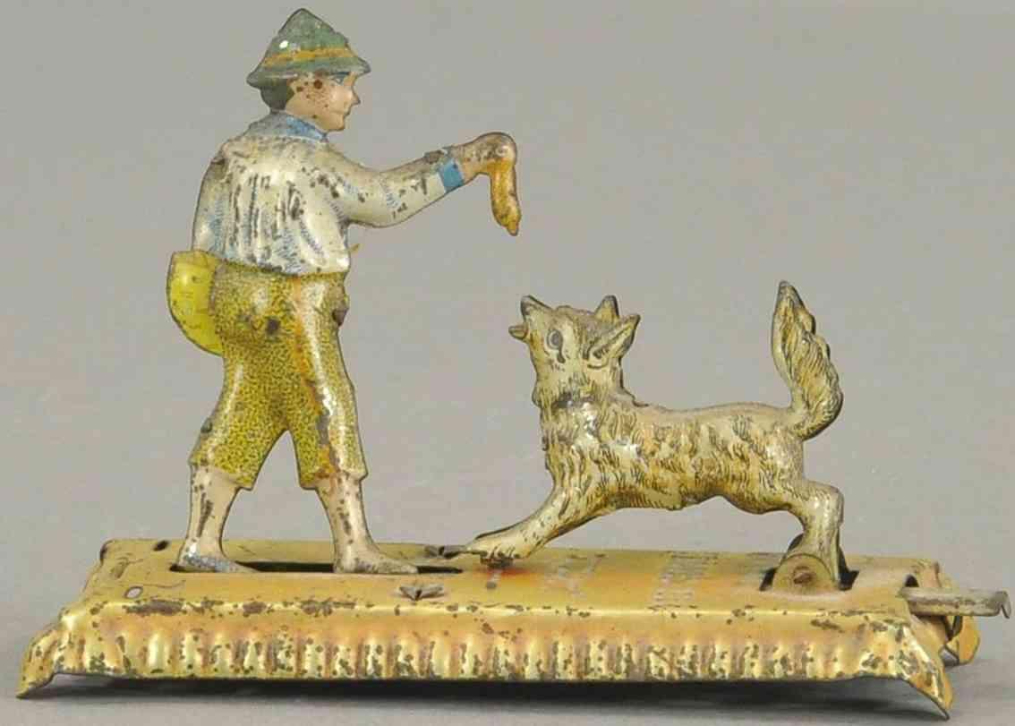 meier penny toy jung fuettert hund gold
