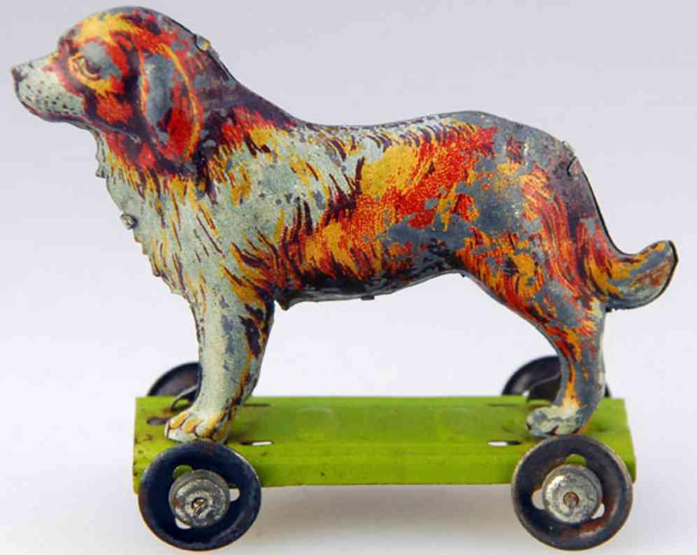 Meier Penny Toy Hund auf Plattform