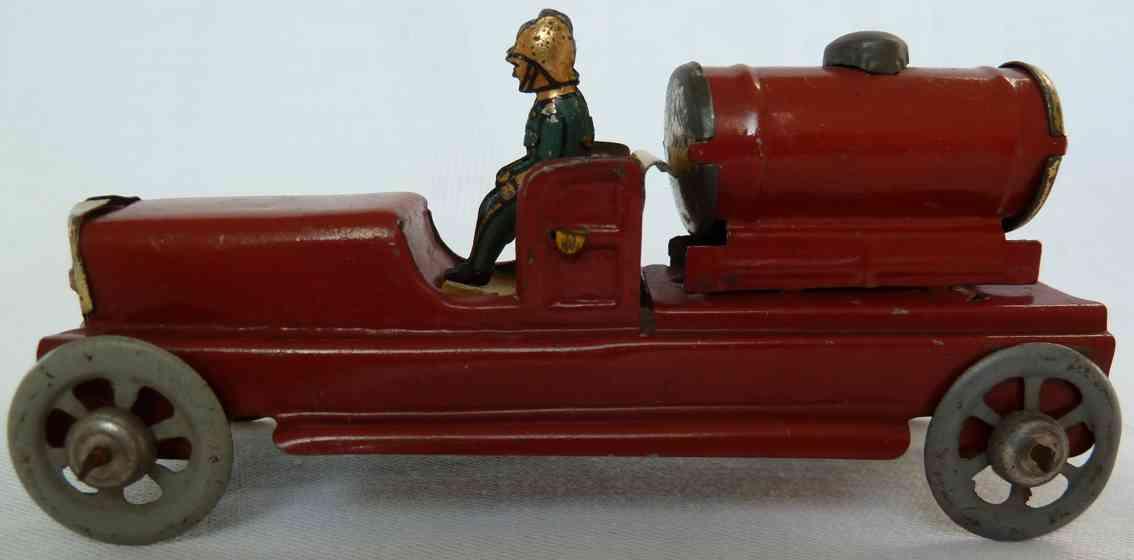 Meier Penny Toy Fire department tank car