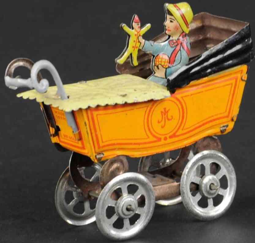 meier penny toy baby puppe kinderwagen