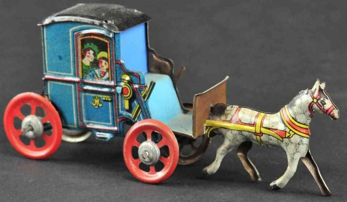 meier blech penny toy kutsche ein pferd