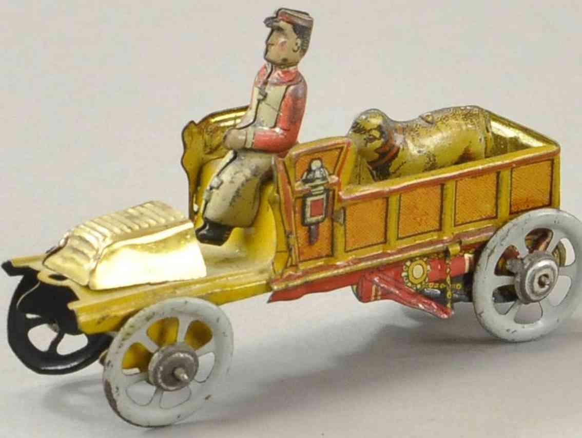 meier penny toy lastwagen mit fahrer und schafbock