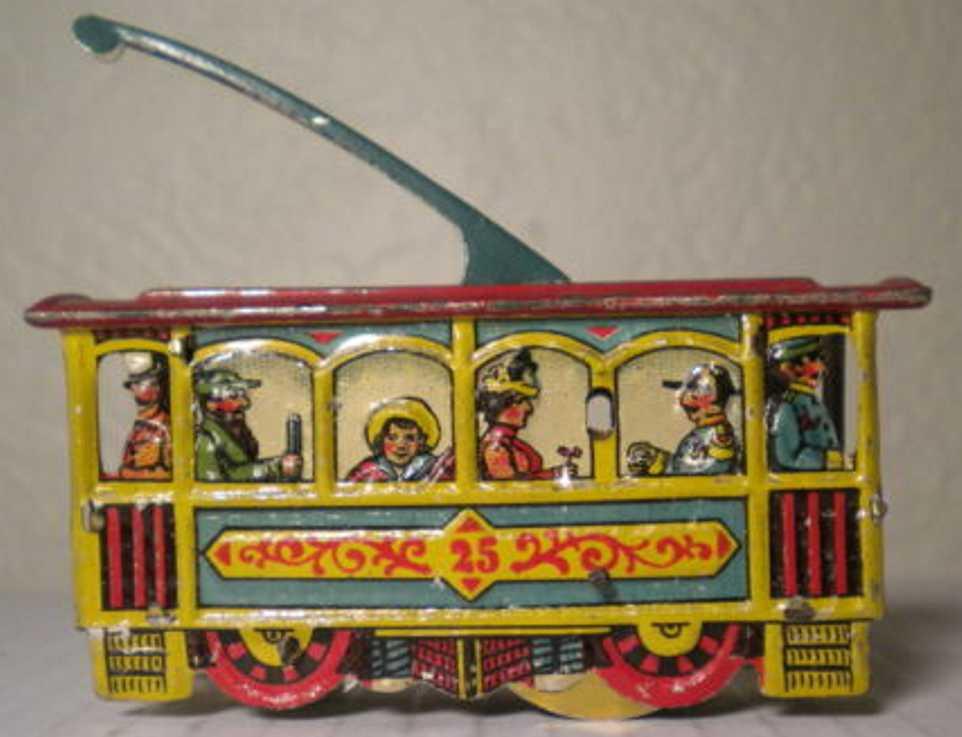 meier 25 blech penny toy strassenbahn
