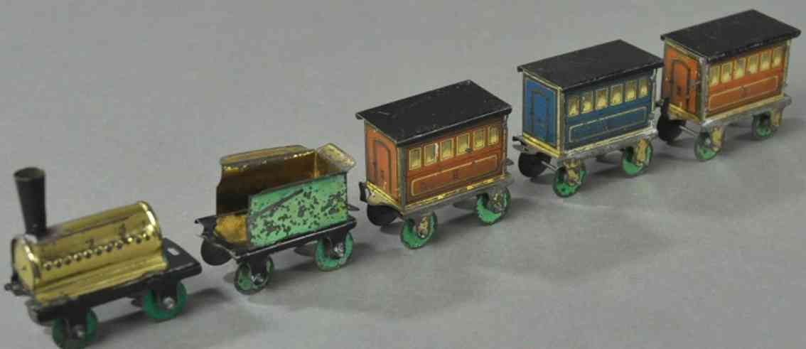 meier Zug 24 penny toy zug blech lok tender drei wagen