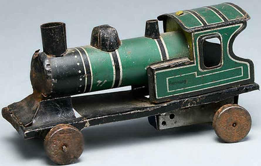moskowitz max nuernberg penny toy locomotive tinplate