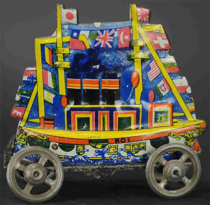 nikko toy industry Flaggenschiff penny toy flaggschiff mit fahnen aus den unterschiedlichsten ländern,