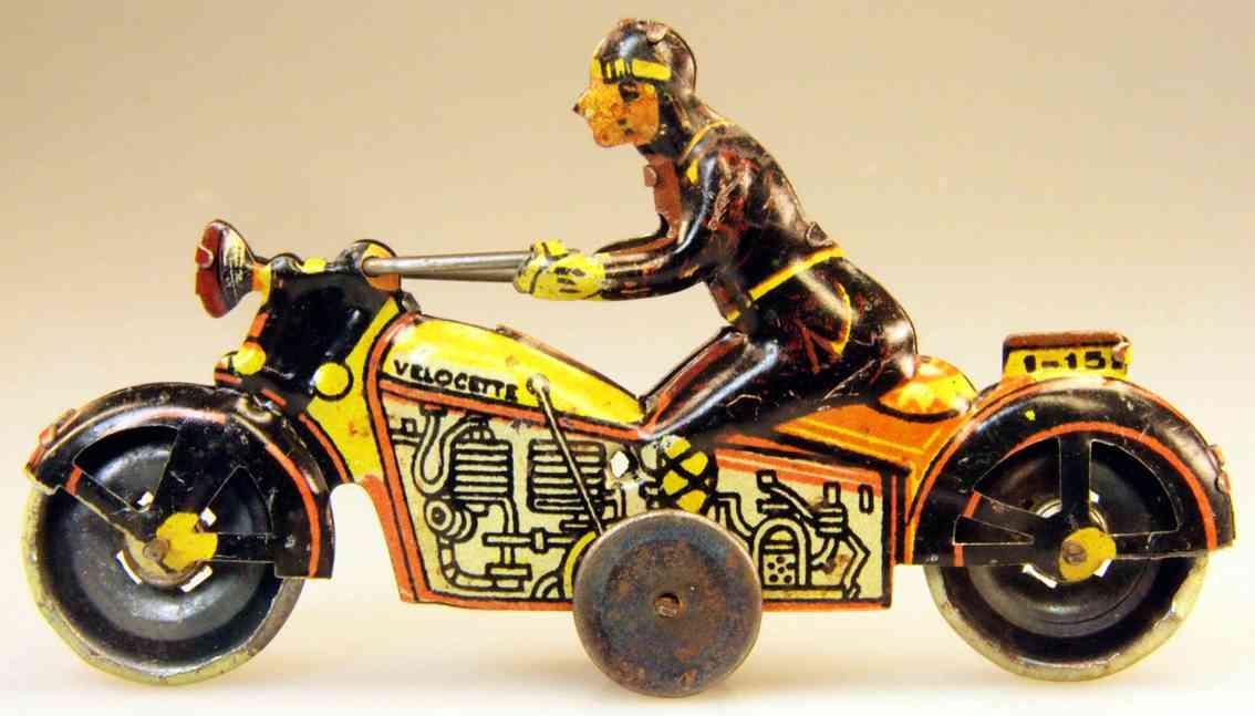 paya 1152 penny toy motorradfahrer