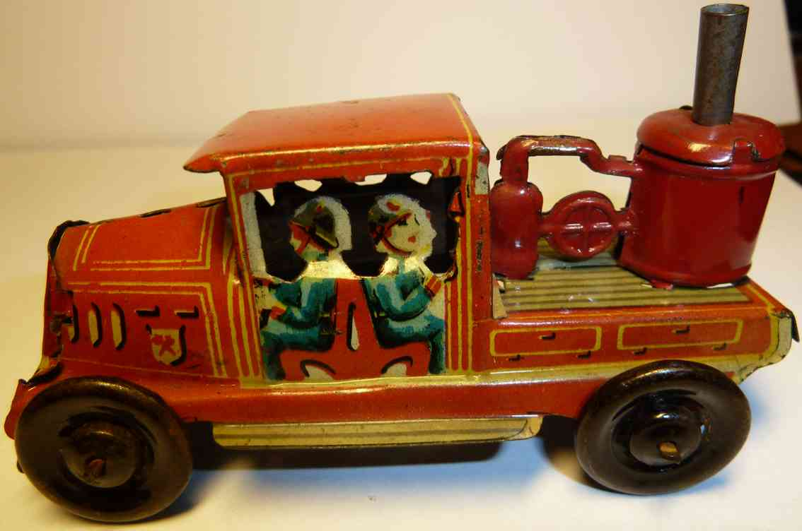 paya penny toy firemen tank car