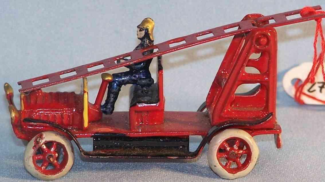 Plank Ernst Penny Toy Feuerwehrleiterwagen