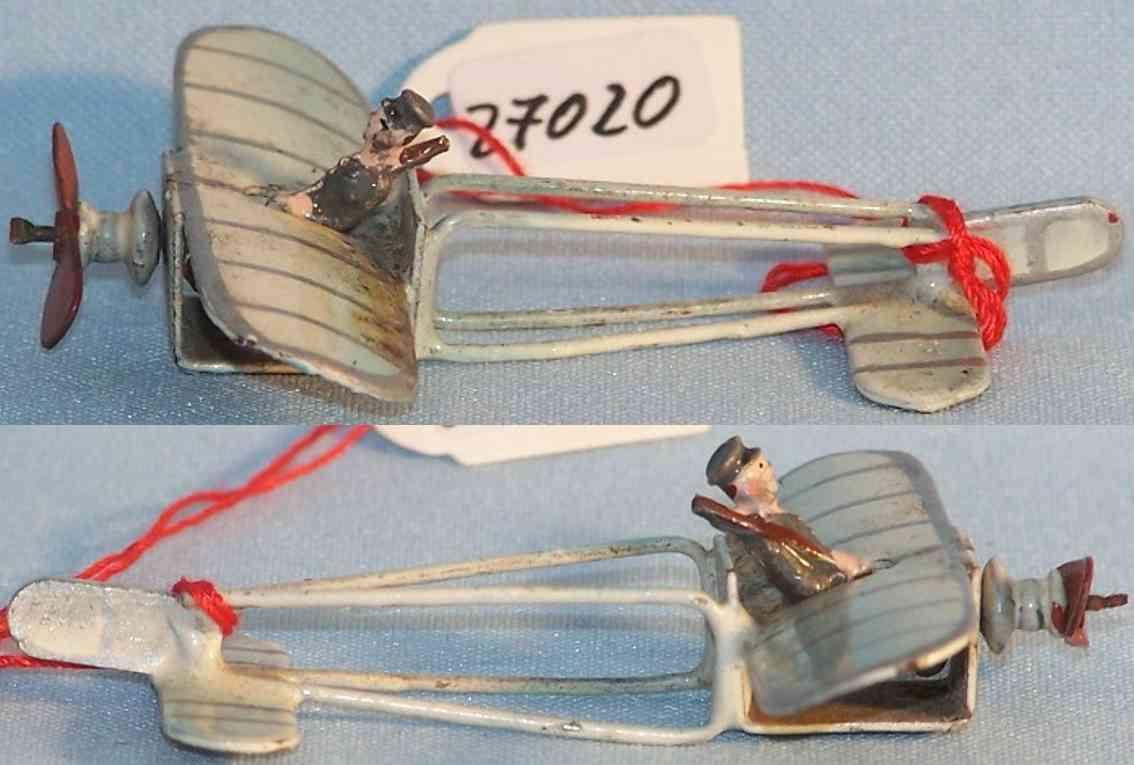 Plank Ernst Penny Toy Propellerflugzeug