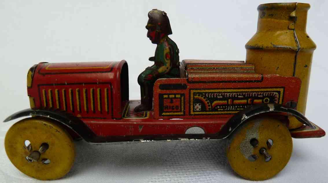 rico 207 penny toy feuerwehrkesselwagen