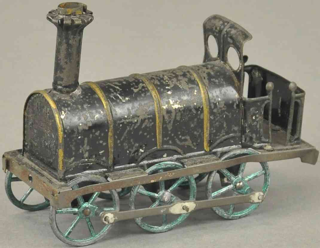 rossignol penny toy schwarze lokomotive langer schornstein