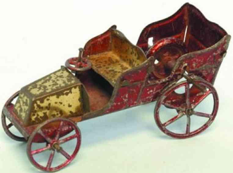 rossignol penny toy tourenwagen rot gelb