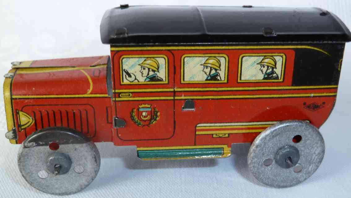 rossignol penny toy fire engine crew