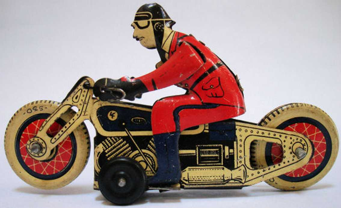 SFA Penny Toy Motorcycle