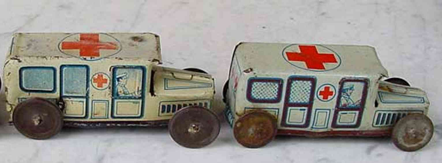 technofix 184 penny toy ambulanz in zwei varianten