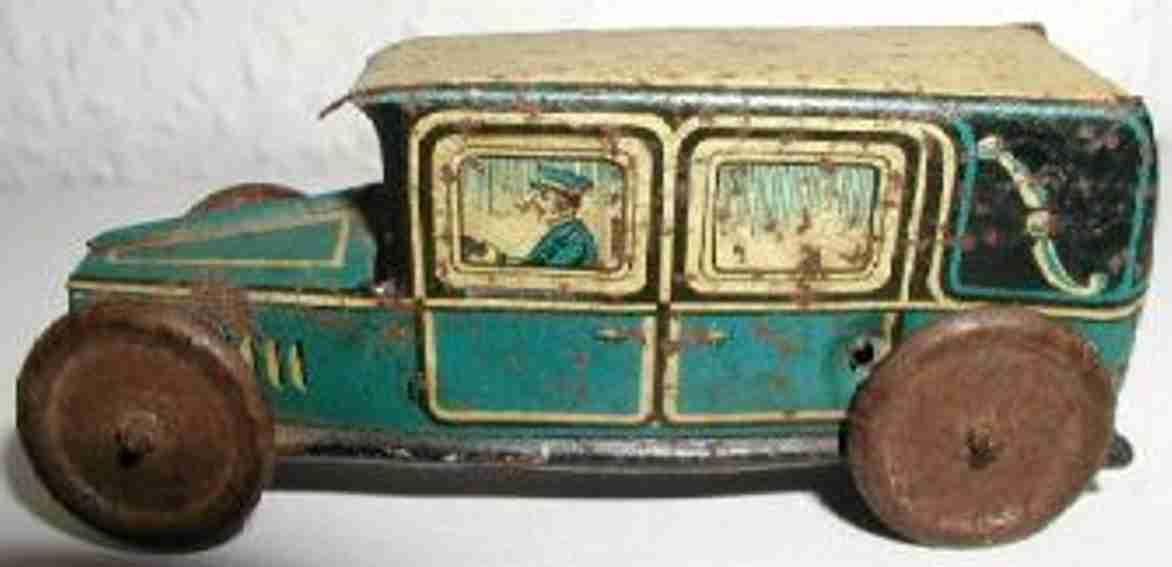 technofix 184 penny toy taxi gruen schwungradantrieb