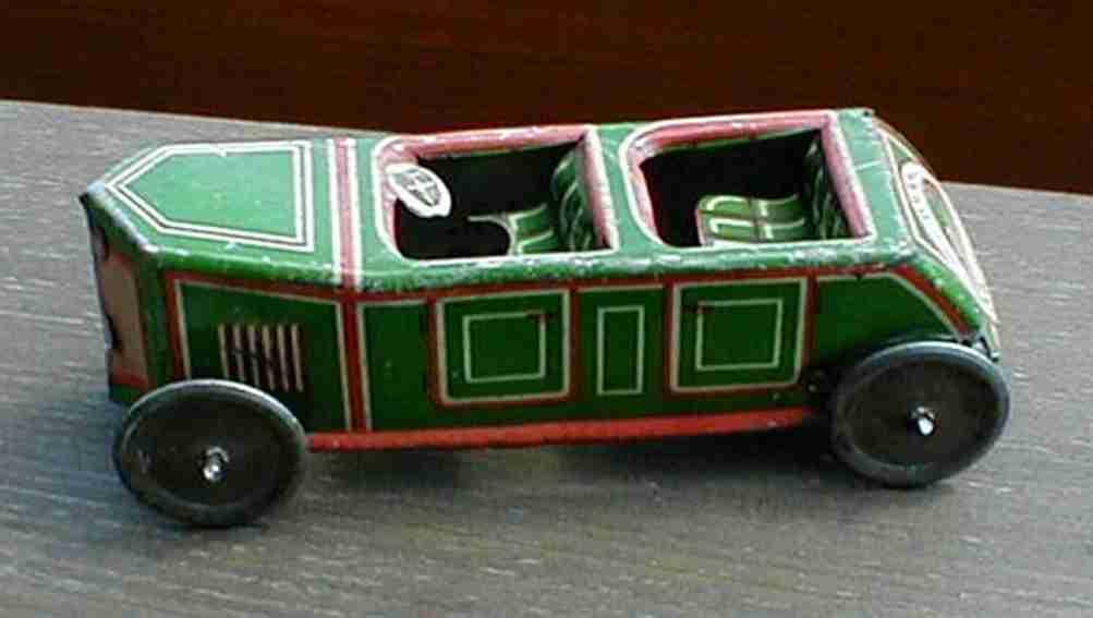 technofix 185 penny toy rennwagen ohne uhrwerk in grün