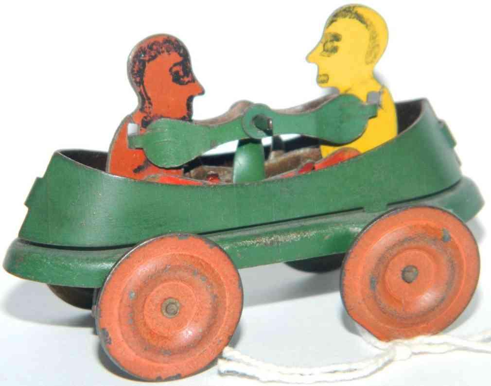 Penny Toy Zwei Männer im Ruderboot
