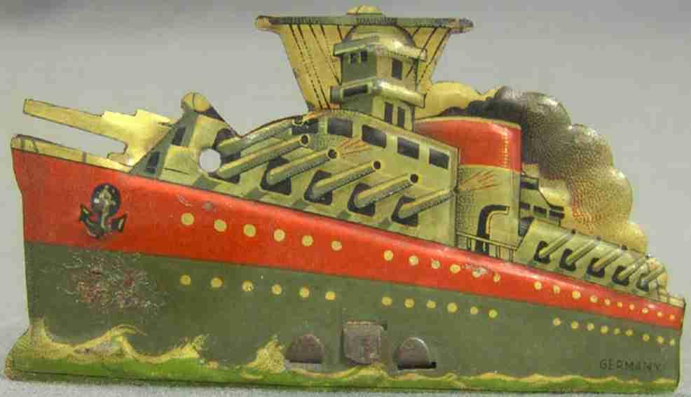 Penny Toy WWI-Deutscher-Kampfkreuzerschiff