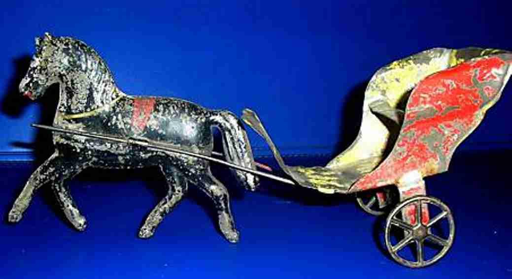 Penny Toy Pferd mit Anhänger