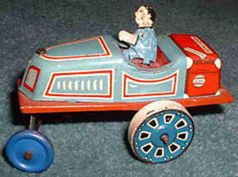 Weiss Paul Penny Toy clown car