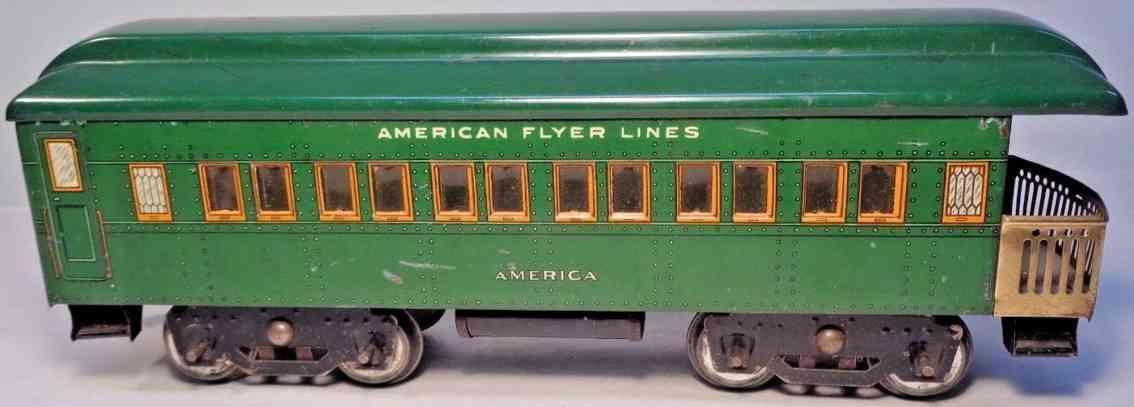 american flyer 4142 eisenbahn aussichtswagen america gruen standard gauge