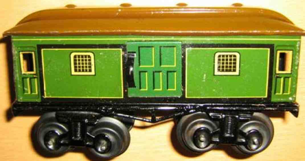 Bing 10479 Postwagen und Gepäckwagen