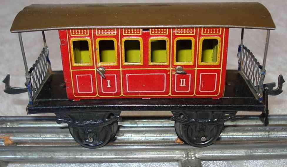 bing 14460 railway toy perron gauge 0