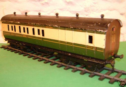 bing 7716 railway toy double block car gauge 0