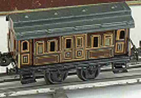 carette 135/27/35 gepaeckwagen spur 0