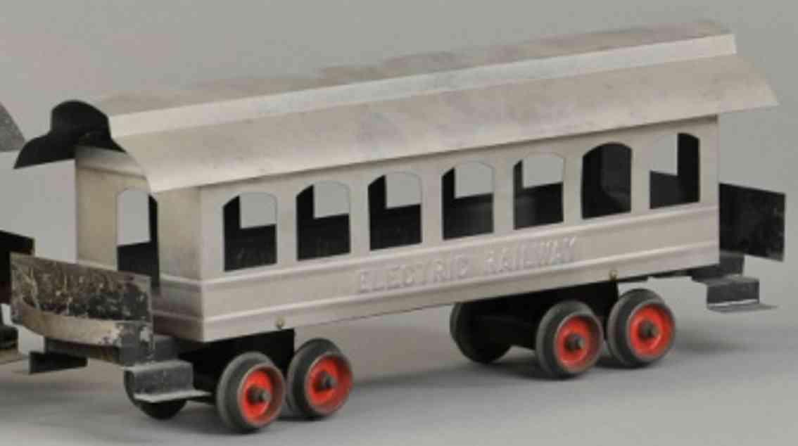 carlisle & finch 13 spielzeug eisenbahn personenwagen