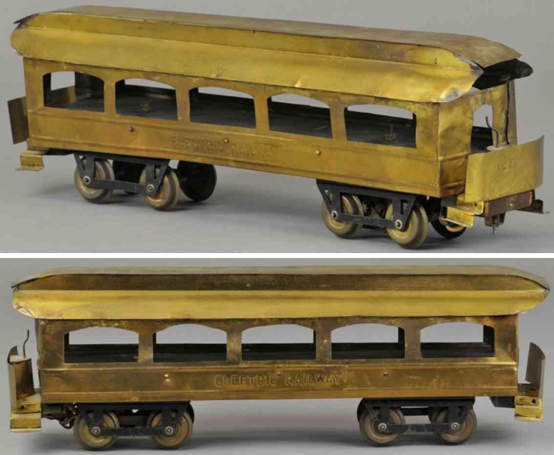 carlisle & finch 2 spielzeug eisenbahn personenwagen