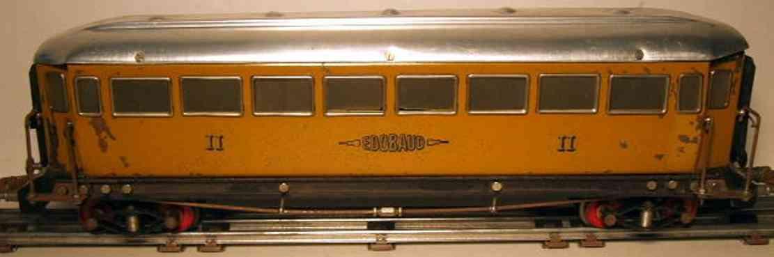 EDOBAUD Personenwagen Erste Klasse Wagen