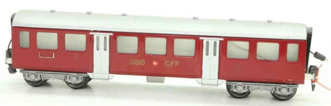 HAG 810 Easy express train coach