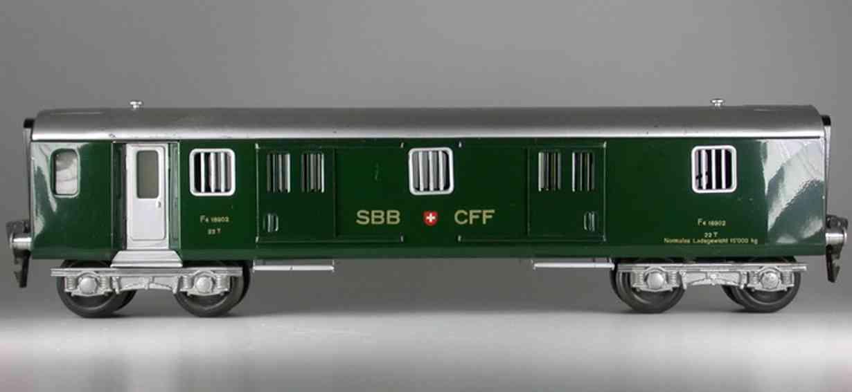 HAG 820 Baggage car