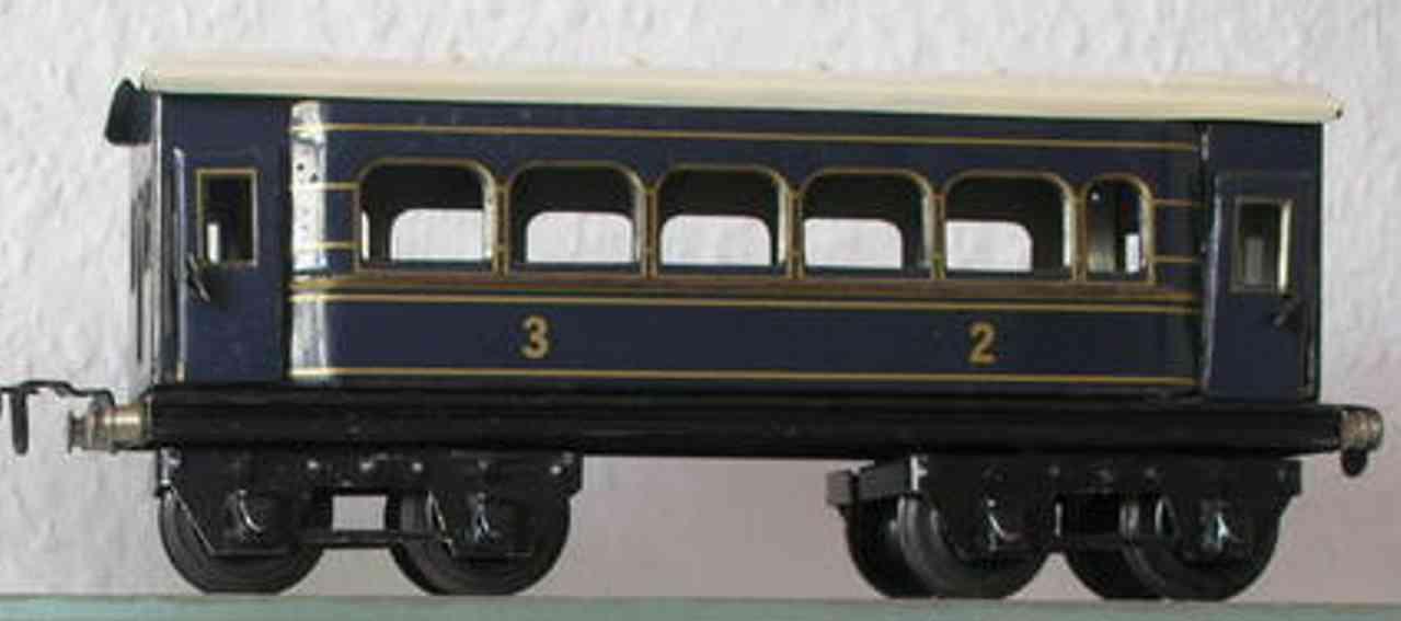 husch spielzeug eisenbahn personenwagen personenwagen; 4-achsig
