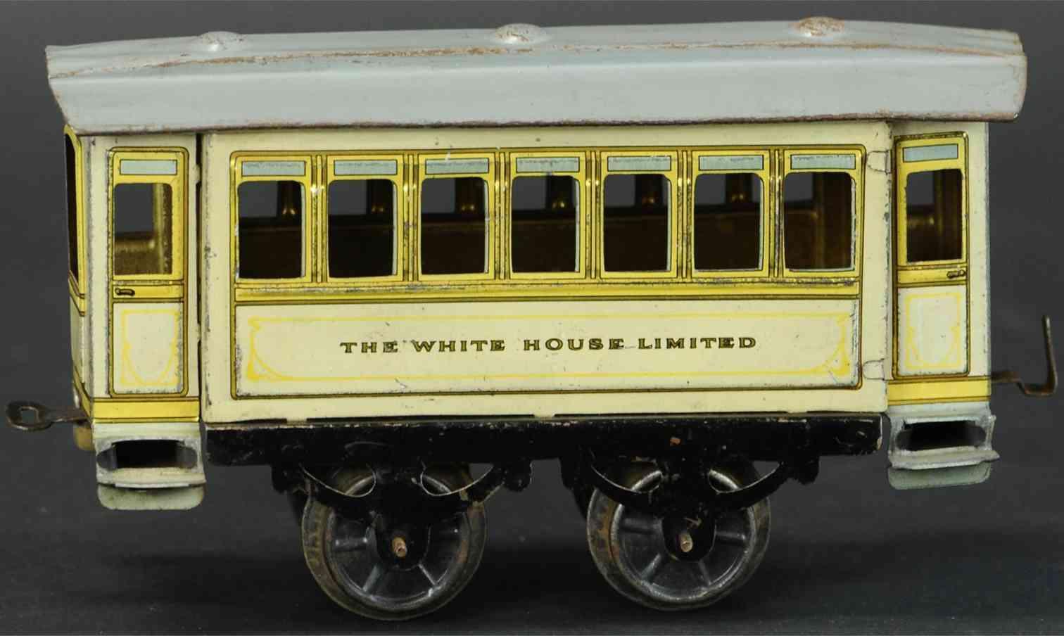 issmayer spielzeug eisenbahn personenwagen the white house limited spur 1