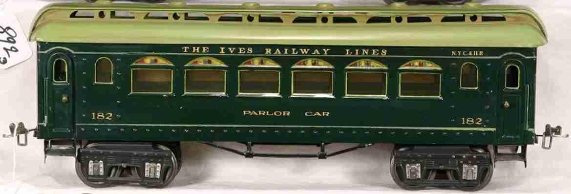 Ives 182 Personenwagen PARLOR CAR