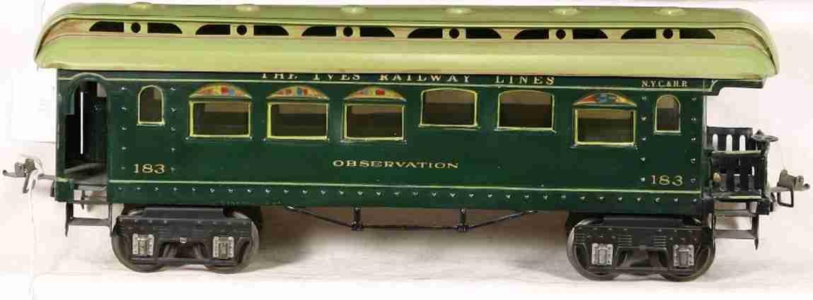 Ives 183 Personenwagen PARLOR CAR