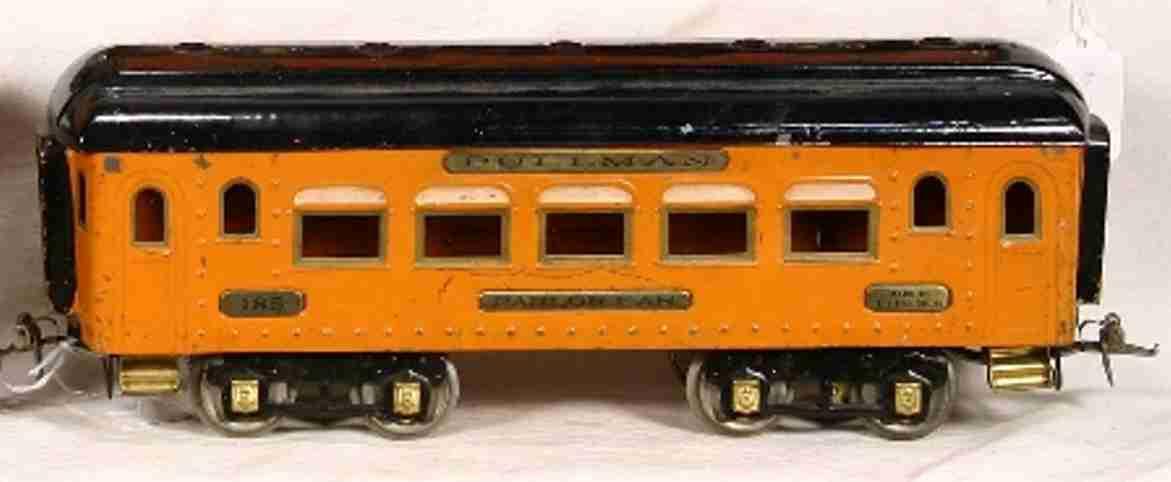 ives 185 spielzeug eisenbahn personenwagen schlafwagen