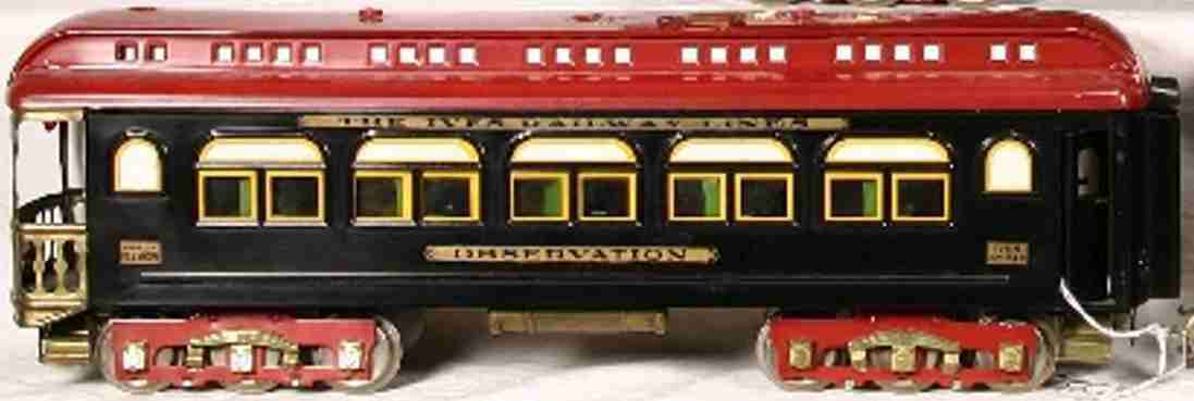 Ives 249 Personenwagen Beobachtungswagen
