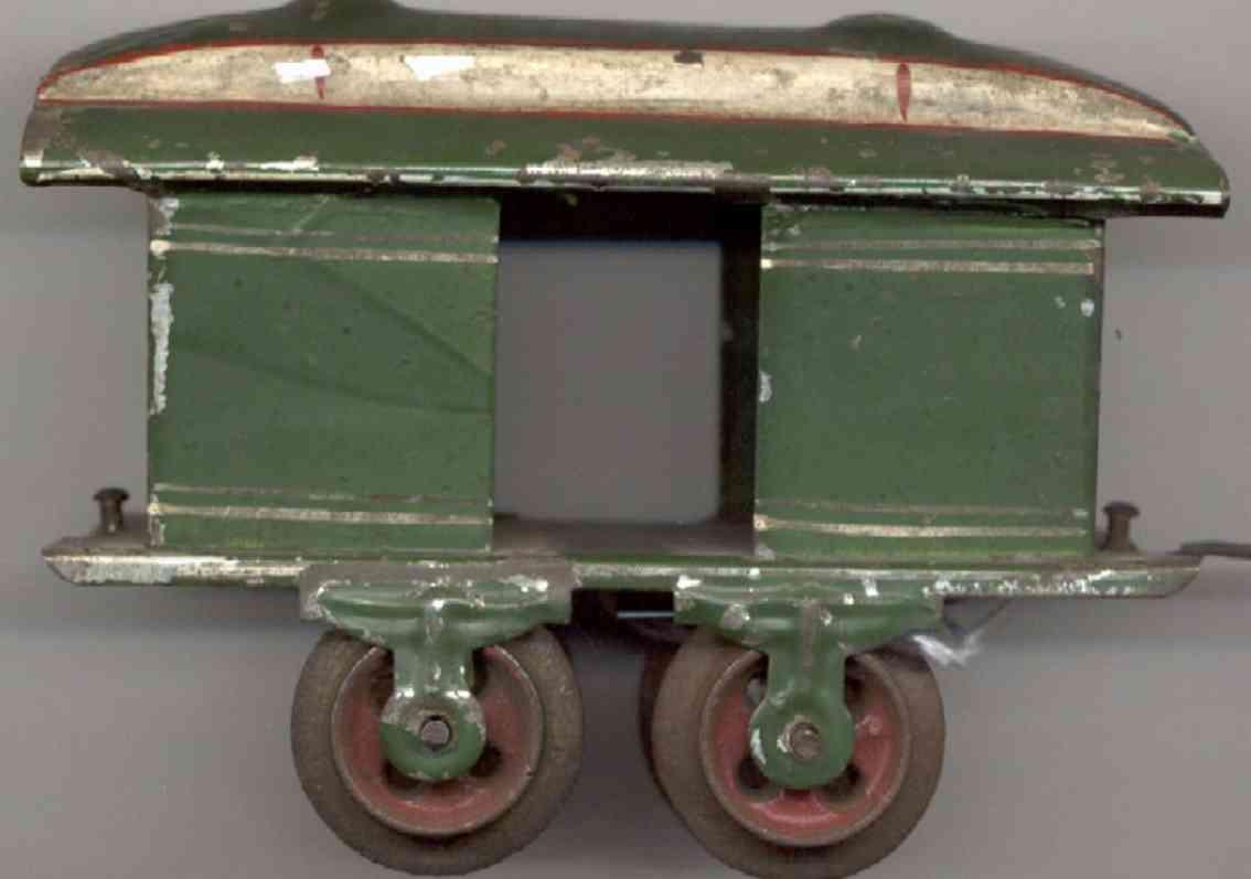 ives 50 personenwagen gepaeckwagen untergestellrahmen spur 0