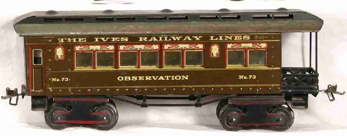 Ives 73 Passenger Car