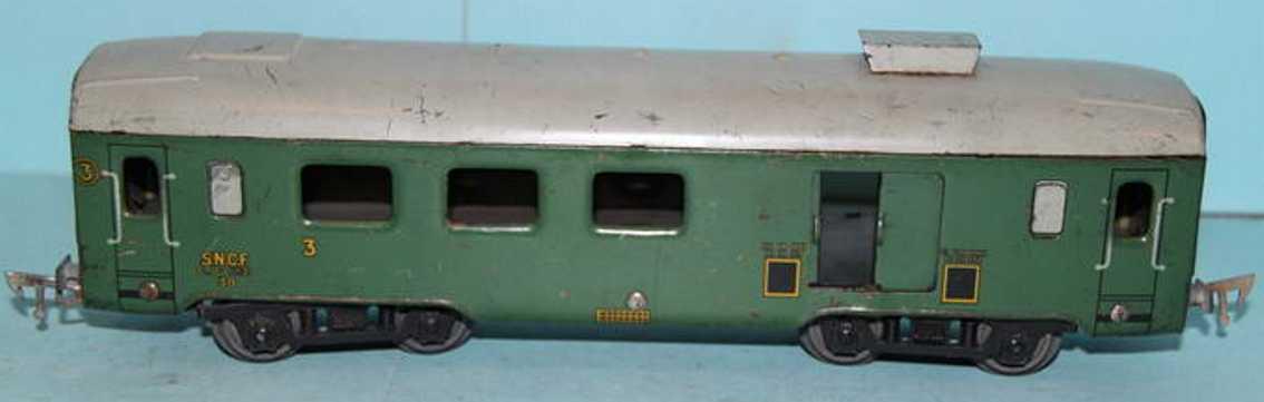 JEP 4761 M Personenwagen Gepäckwagen