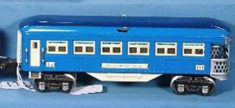 Lionel 2614/I Personenwagen Beobachtungswagen