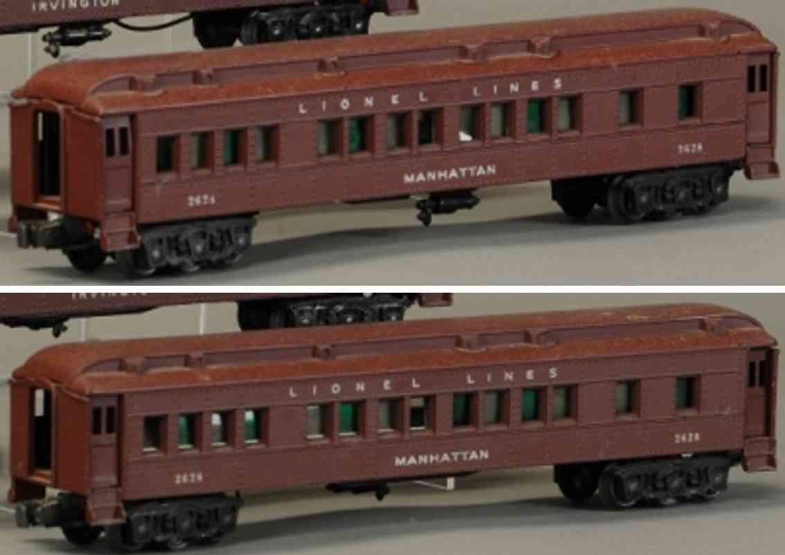 lionel 2625 eisenbahn madison schlafwagen spur 0