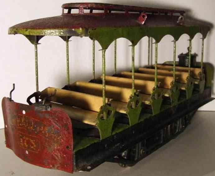 Lionel 300 Personenwagen Strassenbahnwagen