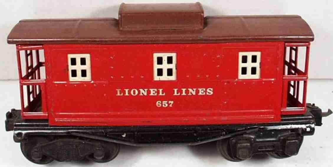 Lionel 657 Typ V Caboose