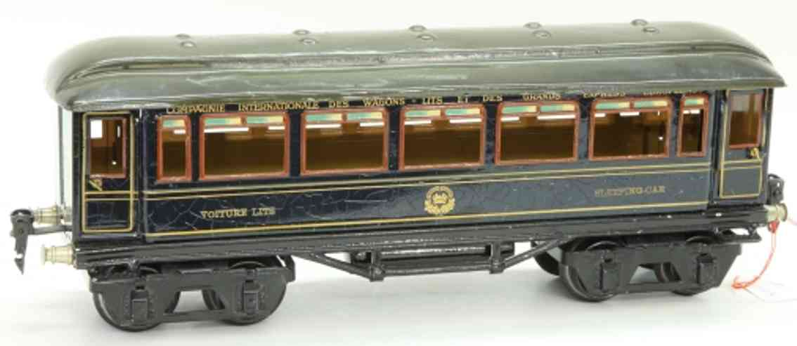 maerklin 1747/1 internationaler schlafwagen der ciwl in blau spur 1